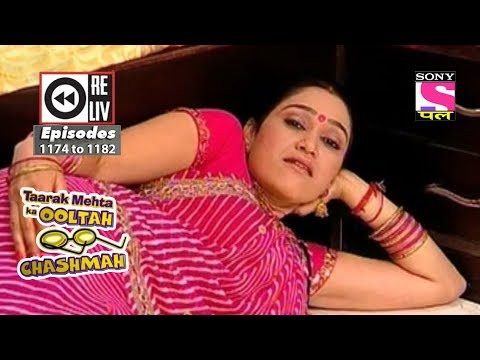Weekly Reliv - Taarak Mehta Ka Ooltah Chashmah - 26th May 2018 to 1st June 2018 - Ep 1174 to 1182 thumbnail