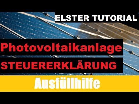 muster steuererklärung für photovoltaikanlagen