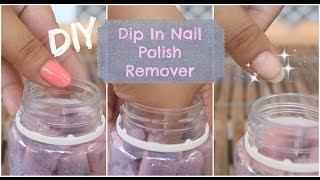 Easy DIY: Dip In Nail Polish Remover | MsLaviniaful