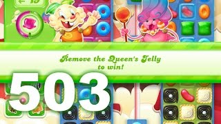 Candy Crush Jelly Saga Level 503 (No boosters)