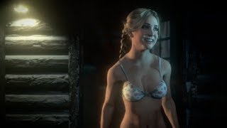 TEENS GET NAKED IN THE WOODS ( ͡° ͜ʖ ͡°)-Until dawn#2