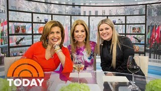 Kathie Lee Welcomes Hoda Back Along With Kelly Clarkson! | TODAY