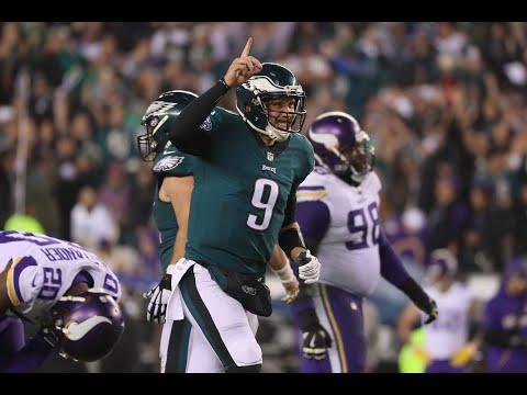 Vikings vs Eagles   Reaction   NFC Championship Game Highlights