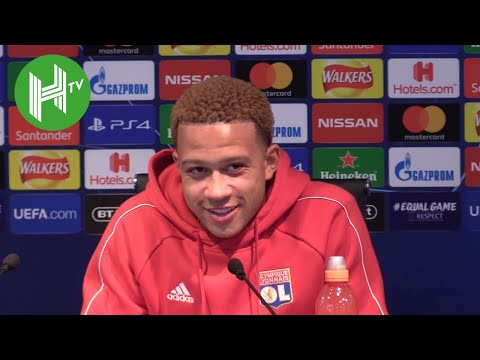 Memphis Depay: The city of Manchester is still Red! - Manchester City v Lyon