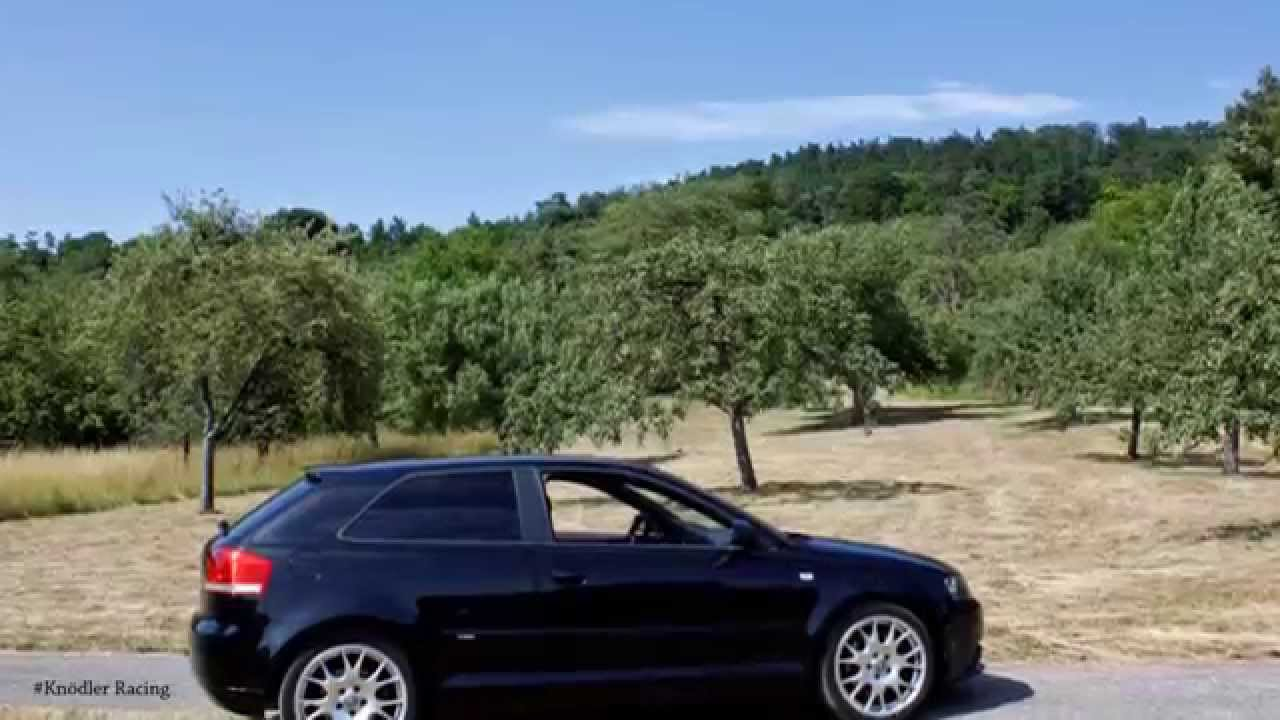 Audi a3 8p 2 0 tfsi sound stock hd youtube for Mueble 2 din audi a3 8p