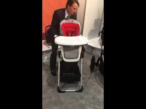 Babytrend modular HIGH CHAIR BASSINET CAR SEAT VIDEO