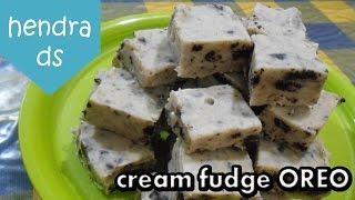 Cream Fudge OREO (3 BAHAN SAJA)