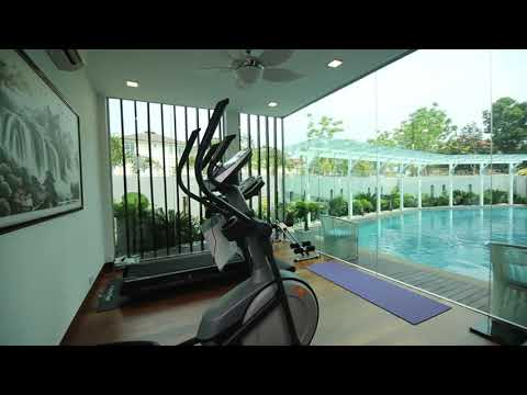 ULTIMATE LUXURY MODERN HOME WITH SWIMMING POOL AND PERSONAL GYM - designed by Nu Infinity