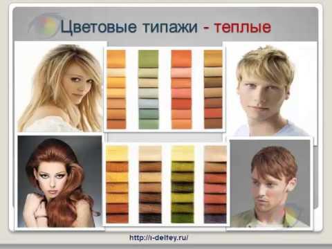Как определить свой Цветотип? Выбор цвета в одежде, макияже. (Ирины Дельфей)