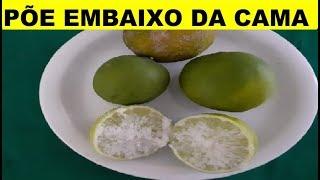 Conheça os Benefícios de Colocar um Limão com Sal Debaixo da Cama Antes de Dormir