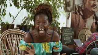 Gerald proposes to Kansiime. African Comedy