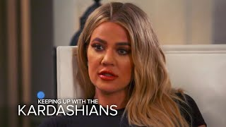 "KUWTK | Khloe Kardashian Says Not Having Bruce Is a ""Huge Blow"" 