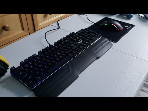 Havit Mechanical Gaming Keyboard And Mouse Combo [Review] (BEST BUDGET KEYBOARD)