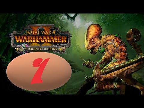 Видео: Total War: Warhammer 2. # 1. Оксиотль. Прохождение на Легенде.