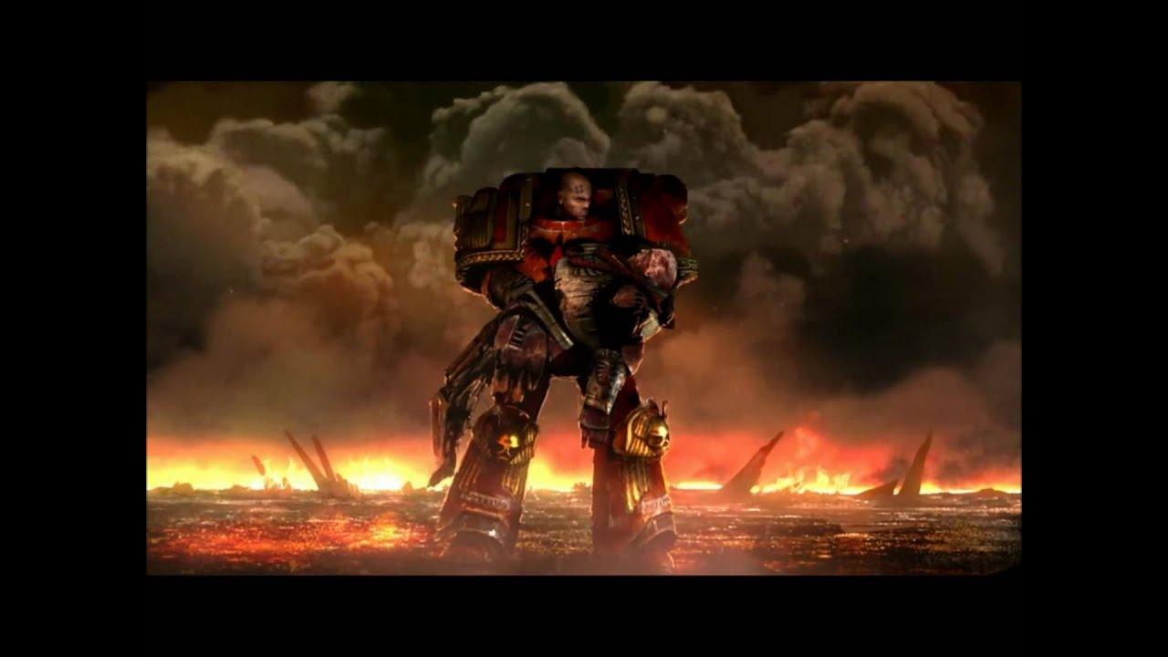 Total War Warhammer Wallpaper Hd Dawn Of War 2 Retribution Space Marine Ending Cutscene