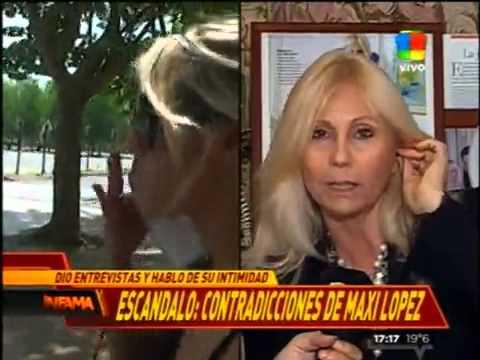 """""""Apelé el bozal legal de Maxi López"""""""