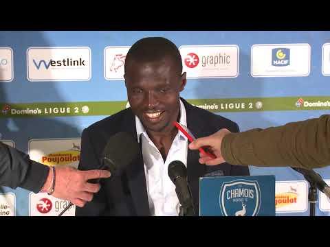 J38 : Chamois Niortais FC - Red Star FC, conférence de presse