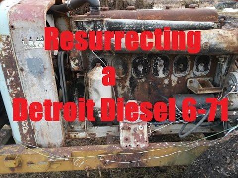 Resurrection of a Gray Marine 6-71 Detroit Diesel