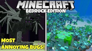 The 7 Most Annoying Bugs In Minecraft Bedrock Edition!