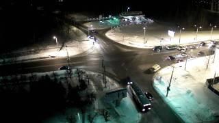 дТП 21.02.2011 21:52 Перекрёсток Ленкома-Эгерский бульвар