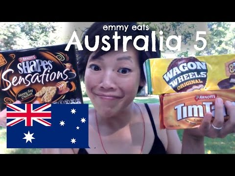 Emmy Eats Australia 5  — a American tasting Australian treats
