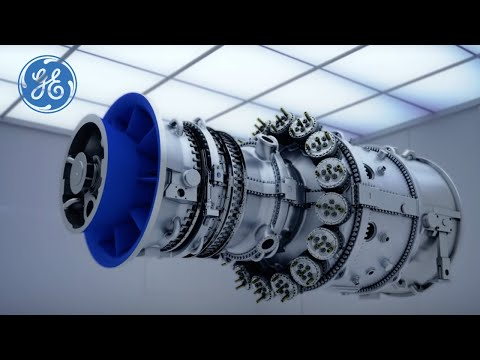 High Efficiency Gas Turbine Technology | Gas Power Generation | GE Power