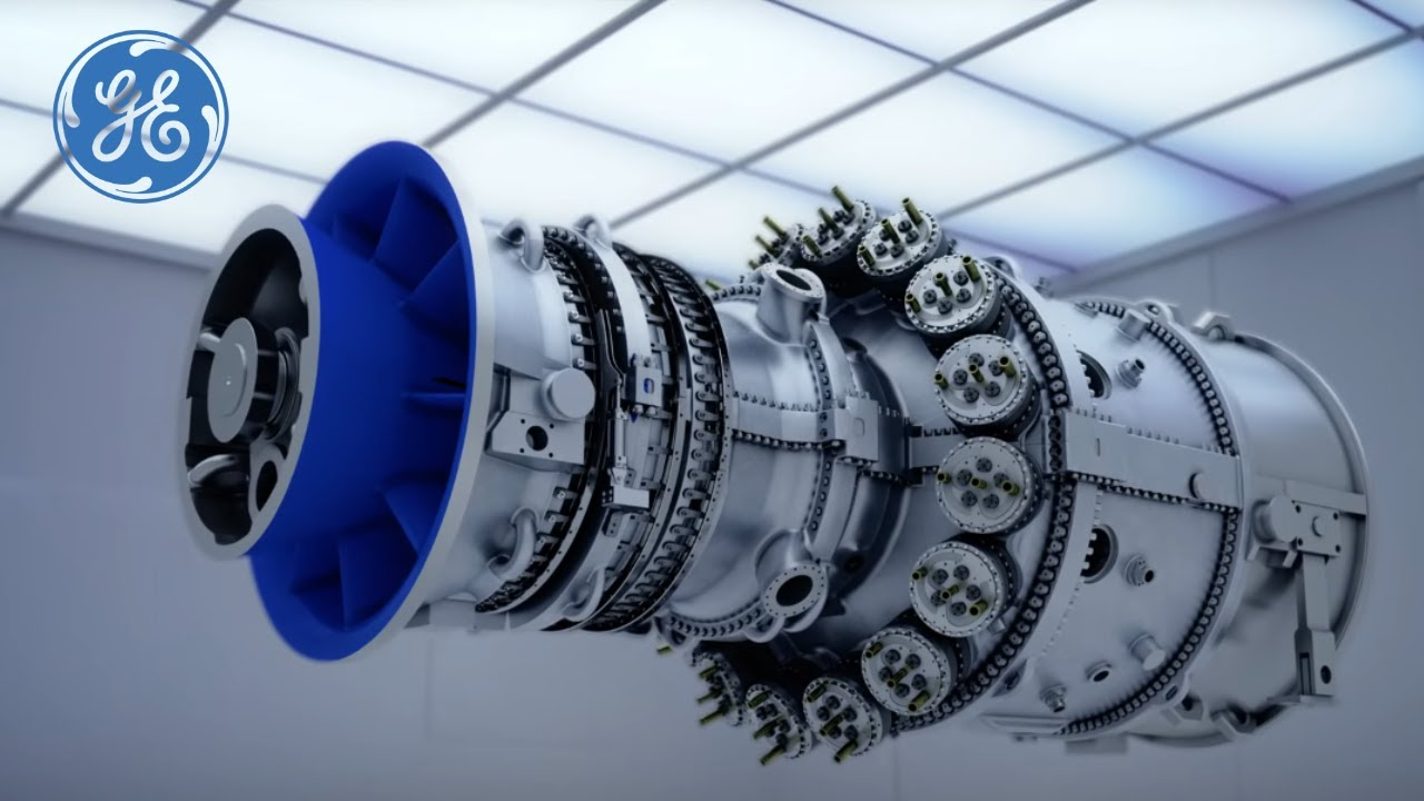 hight resolution of high efficiency gas turbine technology gas power generation ge power