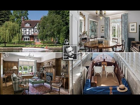 Riverside mansion that inspired Kenneth Grahame for sale