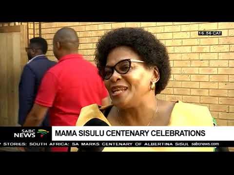 Max Sisulu reflects on his mother Albertina Sisulu contribution to SA