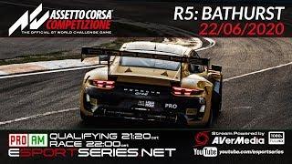 ESPORTSERIES.NET | GT3 2020 S2 | R5 | BATHURST