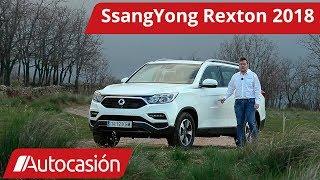 SsangYong Rexton 2018 | Prueba / Test / Review en español | Autocasión