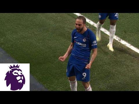 Gonzalo Higuain hits thunderous strike to give Chelsea 2-1 v. Burnley | Premier League | NBC Sports