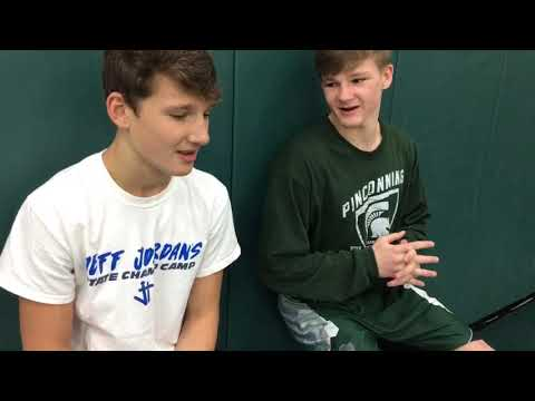Tristan Dycewicz And Jacob Brooks Share Wrestling Chat