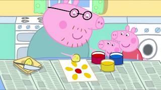 Peppa Pig en Español Episodios completos Pintura 2 | Dibujos Animados