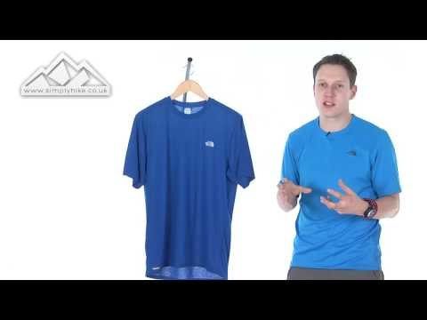 d45653ab7 The North Face Mens Short Sleeved Reaxion Crew T Shirt - www ...