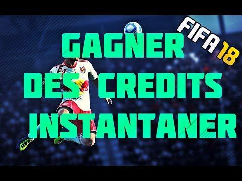 FIFA 18 / FUT 18 / GAGNER DES CREDITS INSTANTANER !!! 50K PAR HEURE !!!