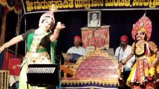 Yakshagana - Barbarika - Shanmukha gowda -