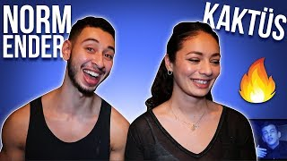 Norm Ender - Kaktüs Turkish Rap Reaction | Jay & Rengin Resimi
