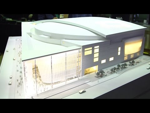 Model For The Transformation Of The Quicken Loans Arena In Cleveland