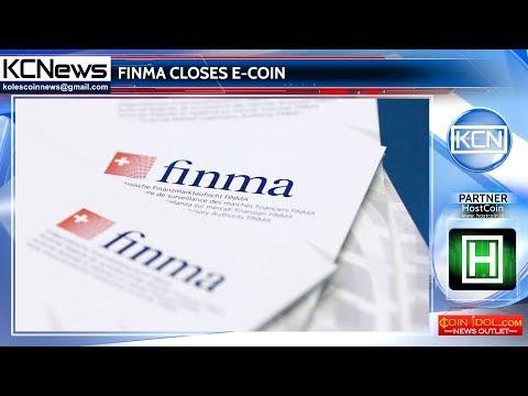 Swiss financial regulator shuts down E-Coin