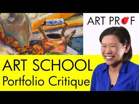 Art Critique: Art School Admissions Portfolio / ART PROF