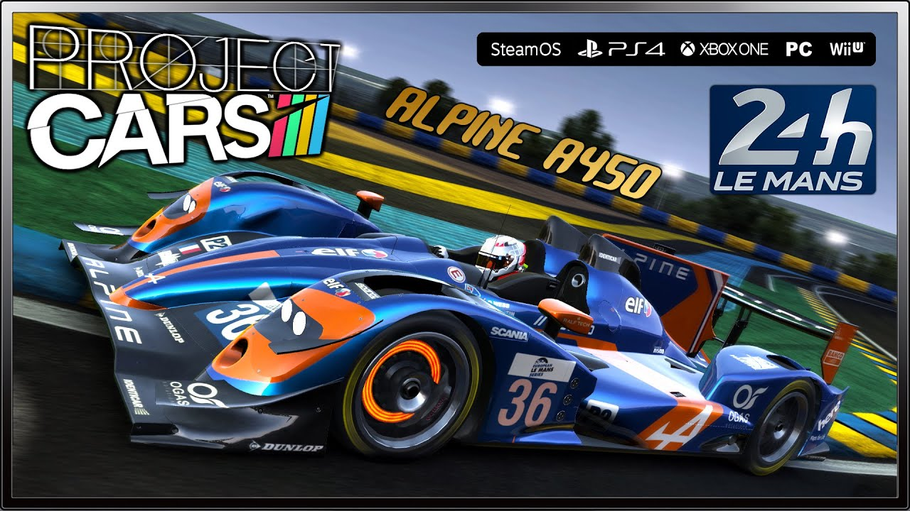 project cars alpine a450 lmp2 circuit of the 24 hours of le mans la sarthe youtube. Black Bedroom Furniture Sets. Home Design Ideas