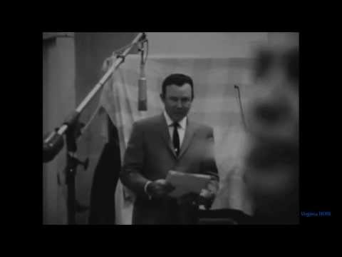 "Jim Reeves..Recording ""Blue Canadian Rockies"" in Studio (Live Video from 1963-HQ)"