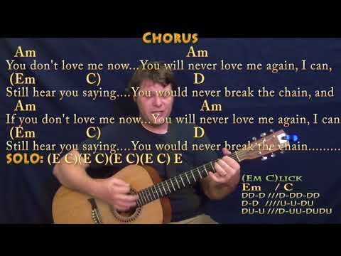 The Chain (Fleetwood Mac) Guitar Cover with Chords/Lyrics