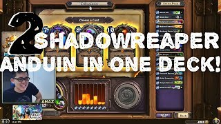 Hearthstone Arena - [Amaz] Two Shadowreaper Anduin! Crazy Stuff!