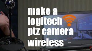 Make a Wireless BCC950 Logitech Conference Camera
