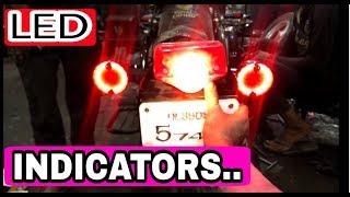 LED indicators for Royal Enfield