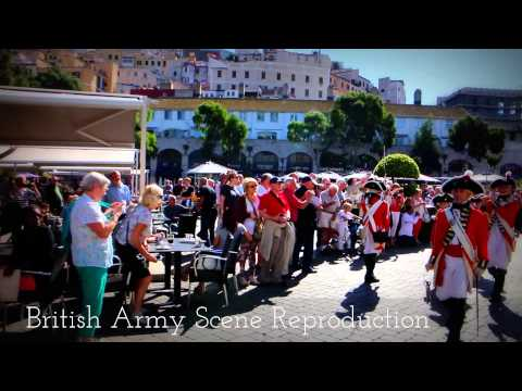 British Army Scene Reproduction in Gibraltar