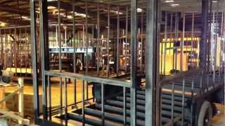 Valiant Concession Trailers - Steel Frame Construction