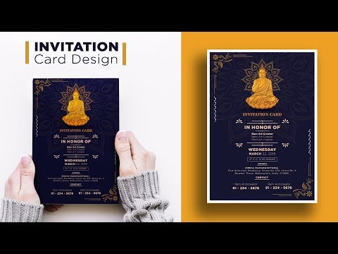 invitation-card-design-|-make-a-invitation-card-in-adobe-illustrator-cc